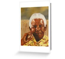 NELSON MANDELA Greeting Card