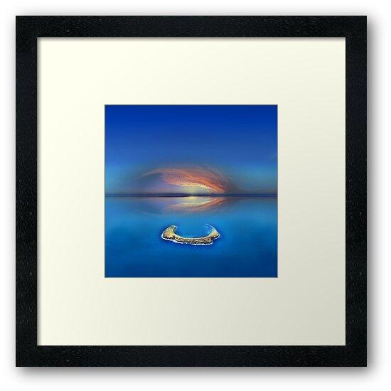 Sunset over Molokini in Hawaii by Atanas Bozhikov Nasko