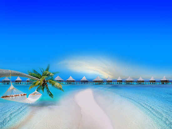 Dream Beach by Digital Editor .