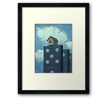 The Domino Master Framed Print