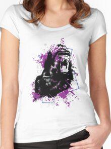 Gorillas Women's Fitted Scoop T-Shirt