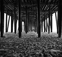 Under the pier... by Cleber Photography Design