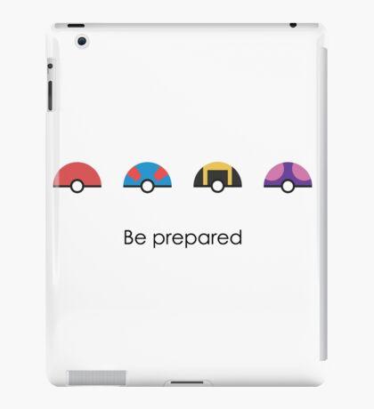 Be Prepared iPad Case/Skin