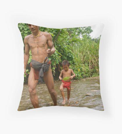 To Kill A Monkey. Throw Pillow