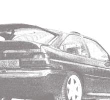 Escort Cosworth Sticker