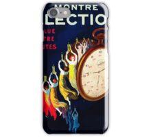 Leonetto Cappiello Affiche Montre Élection iPhone Case/Skin