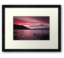 The Perfect Sunrise Framed Print
