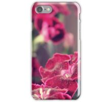 summer flowers - five iPhone Case/Skin