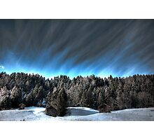 Alpine skies Photographic Print