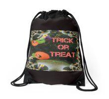 Trick or Treat Pumpkins Drawstring Bag