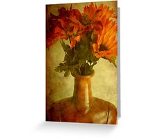 Just a flower display ©  Greeting Card