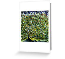 My mind is drenched with His Love. Greeting Card