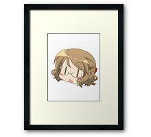 Karasuma-sensei Framed Print