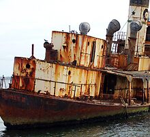 A Rusting Whaling Ship by Eve Parry