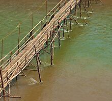 Bamboo Bridge. by Andrew Ferguson