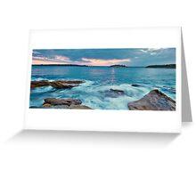 Bare Island - La Perouse Greeting Card