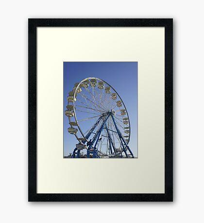 Ride in the Sky Framed Print
