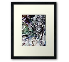 Push Through the Pain  Framed Print