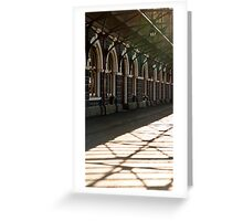 Doors, Windows and Patterns Greeting Card