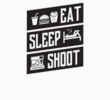 Eat sleep shoot Unisex T-Shirt