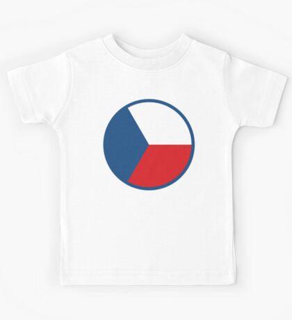 Czech Air Force Insignia  Kids Tee