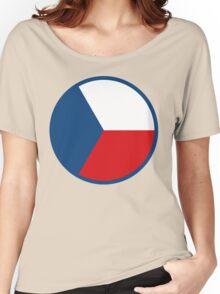 Czech Air Force Insignia  Women's Relaxed Fit T-Shirt