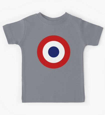 French Air Force Insignia Kids Tee