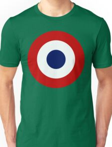 French Air Force Insignia Unisex T-Shirt