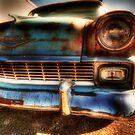 Old Car Decatur , Texas by jphall