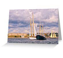 Seaport Favorites Greeting Card