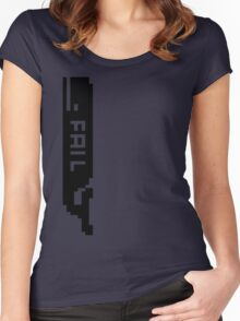 Moby Fail  Women's Fitted Scoop T-Shirt