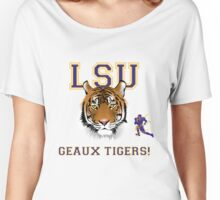 Geaux Tigers! Women's Relaxed Fit T-Shirt