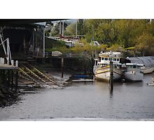 Boats in Launceston Photographic Print