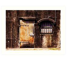 The Gaols at Ft. Stevens Art Print