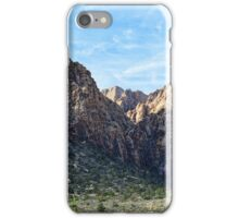 Red Rock Canyon Foothills iPhone Case/Skin