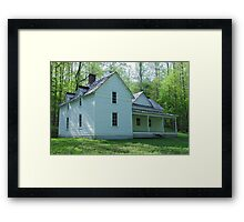 Woody House Framed Print