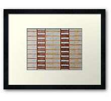 Council Flat Windows Framed Print