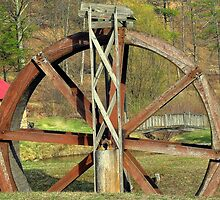 The old wheel by Chuck Chisler