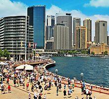 Australia Day at Circular Quay by GW-FotoWerx