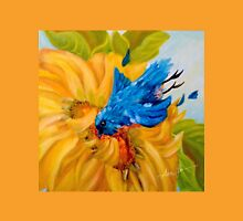 Dive Bombing the Sunflower, by Alma Lee Unisex T-Shirt