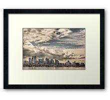 Seattle.  Framed Print