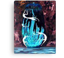 Dancers of the Blue Fire Jar Canvas Print