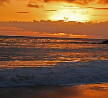 Laguna Beach Sunset by photojeanic