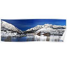 Deer Creek Reservoir - Mount Timpanogos Reflected Poster