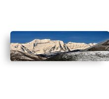 Layers of Hills  and Timpanogos Canvas Print