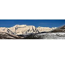 Layers of Hills  and Timpanogos Photographic Print