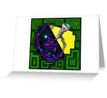 Matrix... Greeting Card
