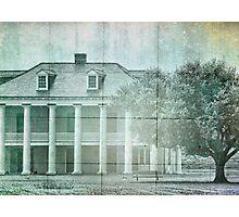 Beautiful Plantation Home Photographic Print