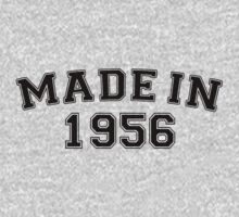 Made in 1956 by personalized