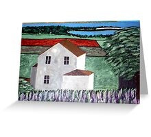 Summer Breeze Off The Lake Greeting Card